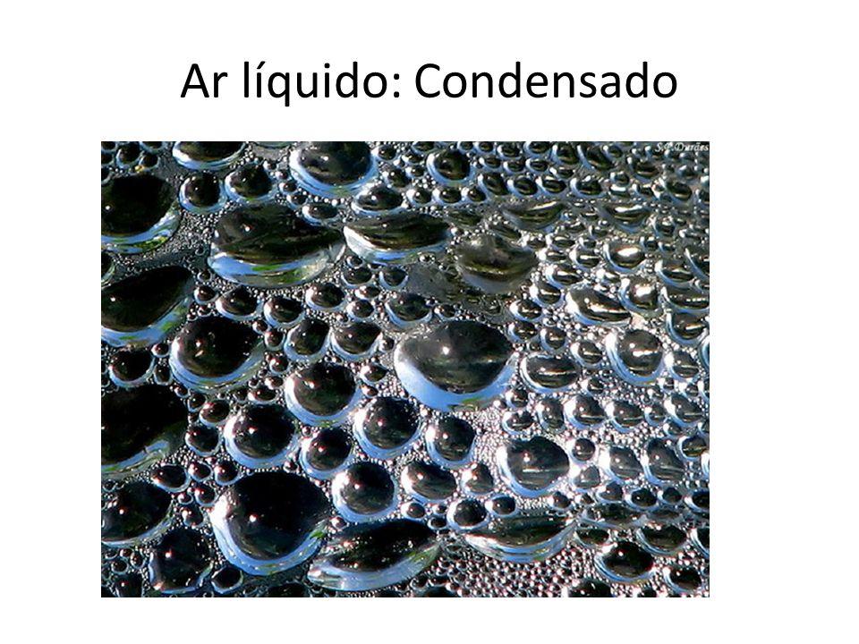 Ar gasoso: estado natural
