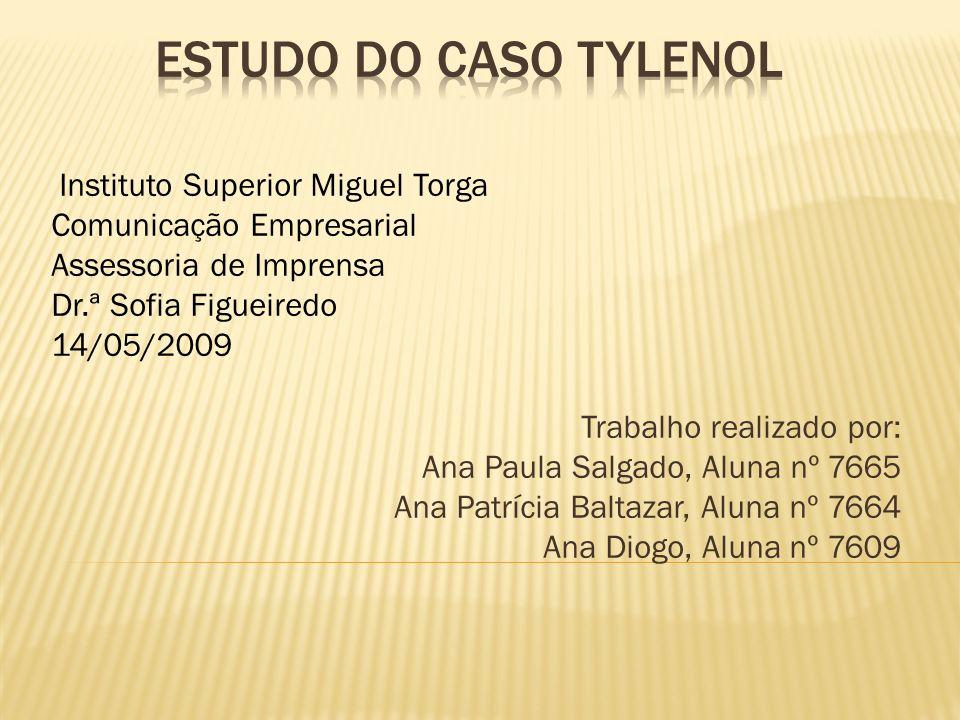 Instituto Superior Miguel Torga Comunicação Empresarial Assessoria de Imprensa Dr.ª Sofia Figueiredo 14/05/2009 Trabalho realizado por: Ana Paula Salg