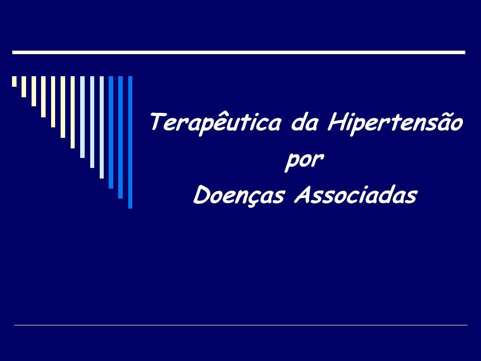 Terapêutica da Hipertensão por Doenças Associadas