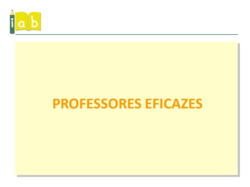 PROFESSORES EFICAZES