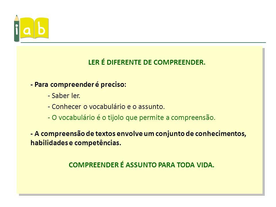 Assistir ao vídeo OS 31 FONEMAS DA LÍNGUA PORTUGUESA no site do IAB.