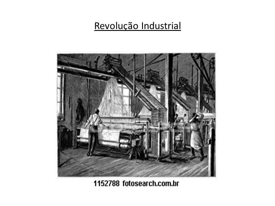 – A revolução industrial foi responsável pela separação definitiva entre o capital e o trabalho, pela consolidação do trabalho assalariado, pelo controle da burguesia sobre a produção e pela formação de uma nova classe social – o proletariado.