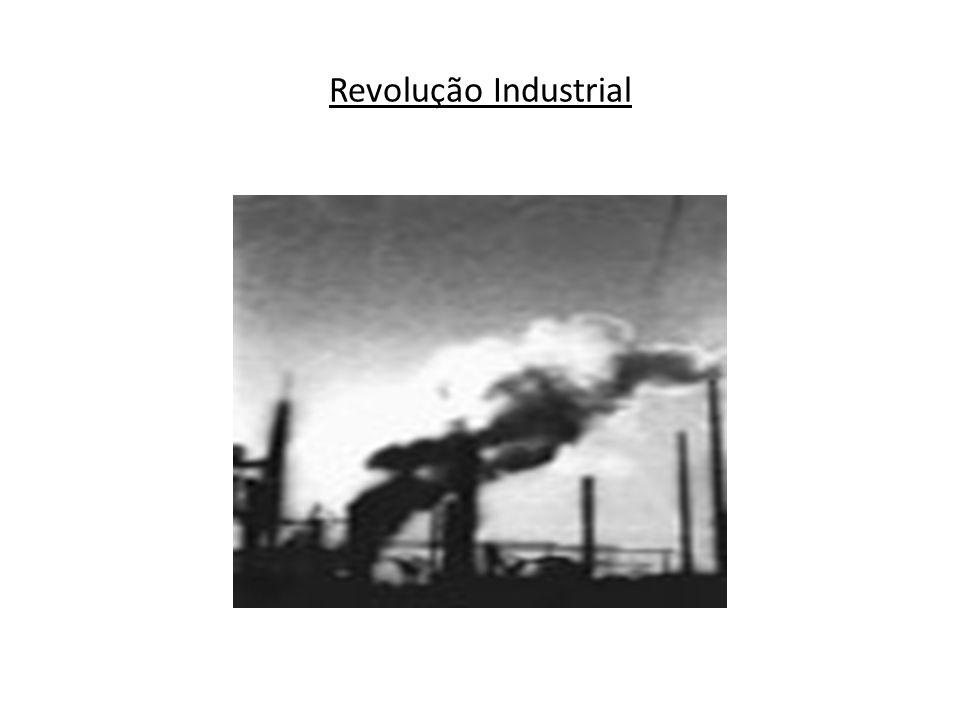 Podem-se distinguir três períodos no processo de industrialização em escala mundial: 1760 a 1850 - A Revolução se restringe à Inglaterra, a oficina do mundo .