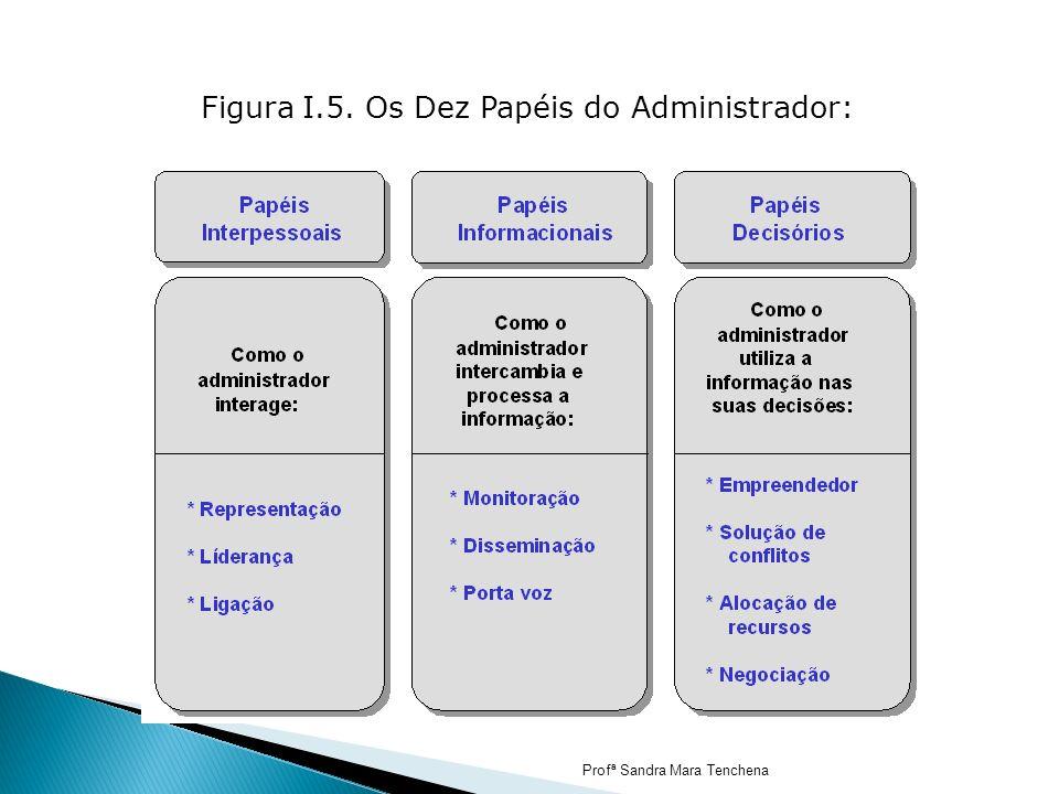 Figura I.5. Os Dez Papéis do Administrador: Profª Sandra Mara Tenchena