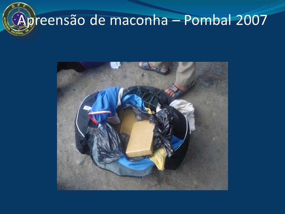 Apreensão de maconha – Pombal - 2007