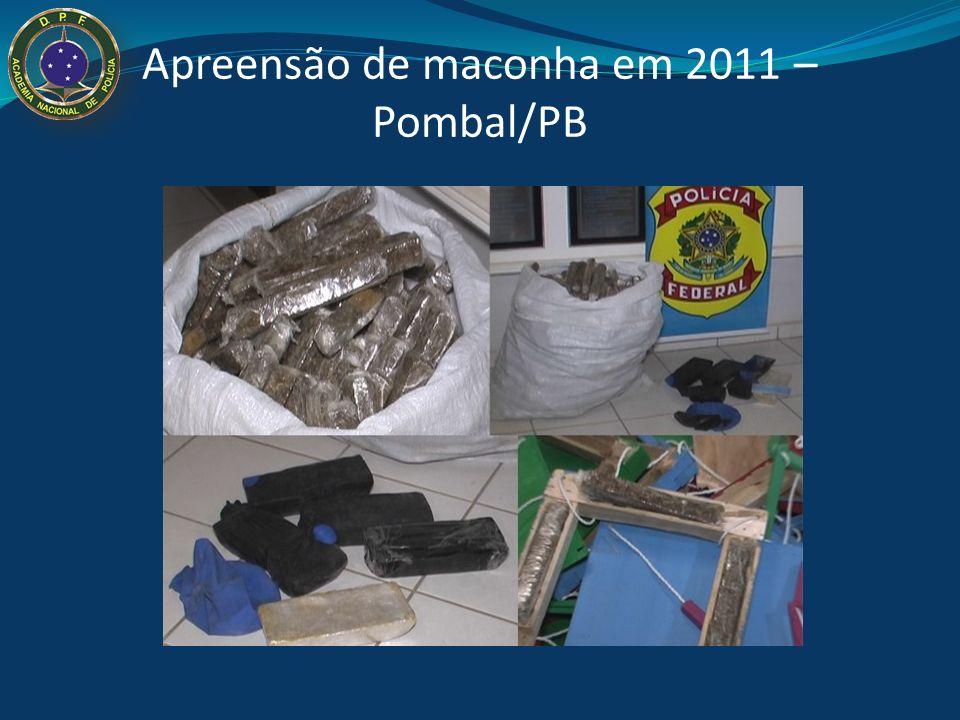 Apreensão de maconha – Pombal 2007