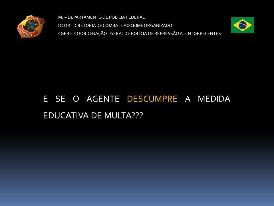 MJ – DEPARTAMENTO DE POLÍCIA FEDERAL DCOR - DIRETORIA DE COMBATE AO CRIME ORGANIZADO CGPRE -COORDENAÇÃO –GERAL DE POLÍCIA DE REPRESSÃO A E NTORPECENTE