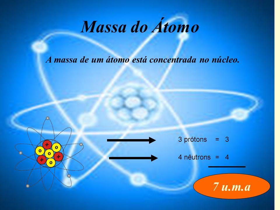 Átomo O = 16 1 átomo = 16 u.m.a 1 mol de O = 16 gramas 16 gramas = 6,02 x 10 23 átomos Fixando conteúdo