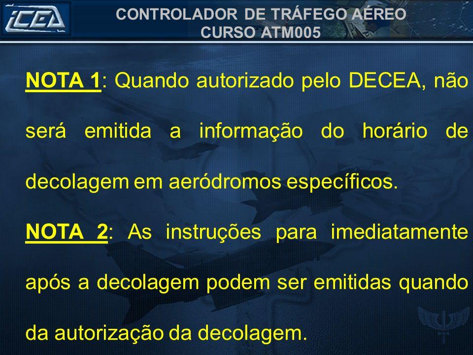 CONTROLADOR DE TRÁFEGO AÉREO CURSO ATM005 TORRE RIGA, PT VHC, para cruzamento do aeródromo.
