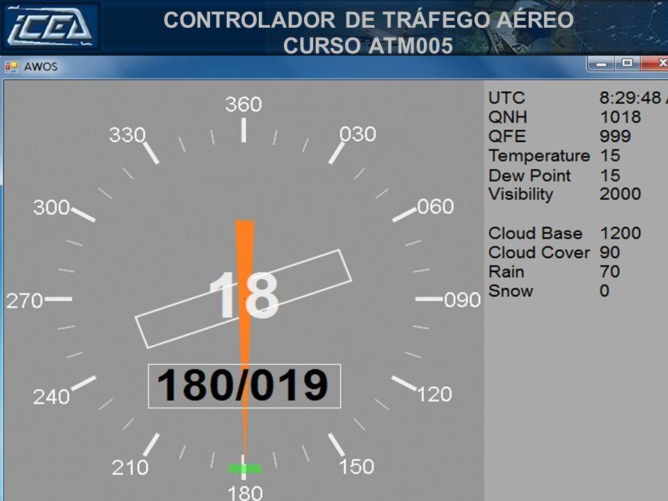 CONTROLADOR DE TRÁFEGO AÉREO CURSO ATM005 Tráfego RIGA, SAS 2631 solicita informações de partida. SAS 2631, pista 18, vento 180/20kt, Ajuste de altíme