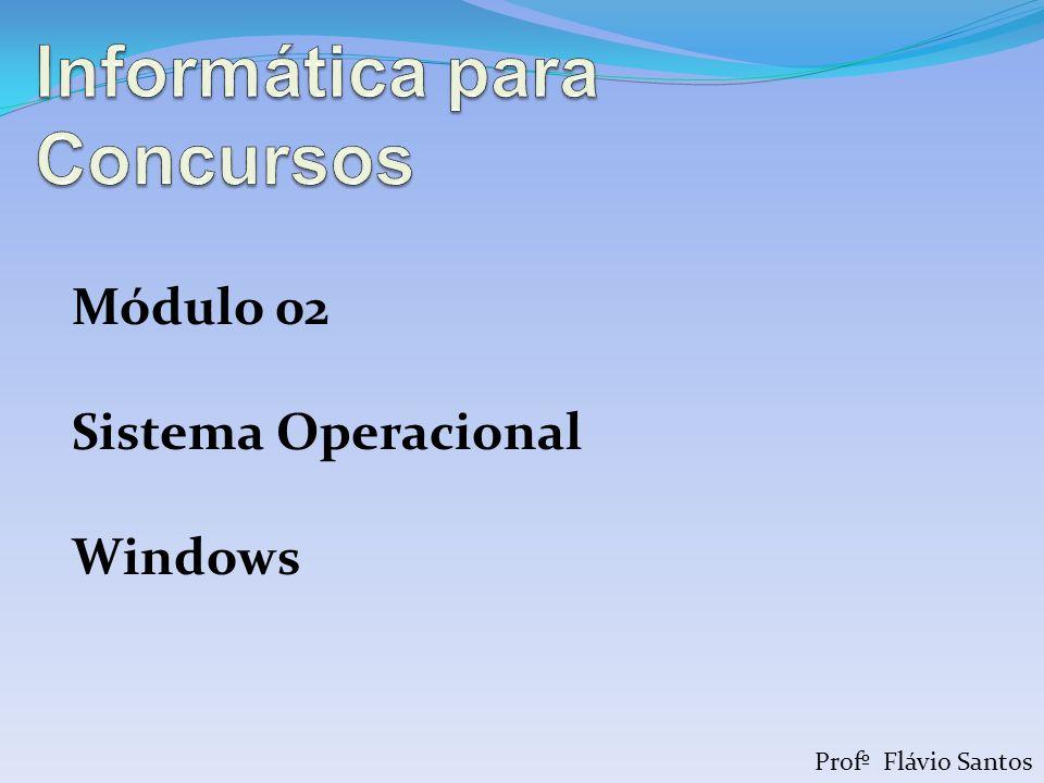 Profº Flávio Santos Módulo 02 Sistema Operacional Windows