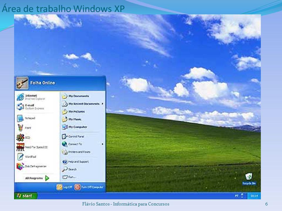 Área de trabalho Windows Vista Flávio Santos - Informática para Concursos7