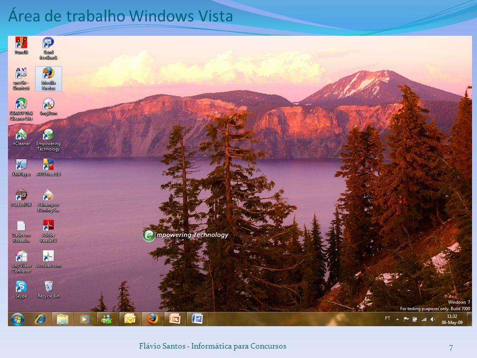 8 Área de trabalho Windows Seven