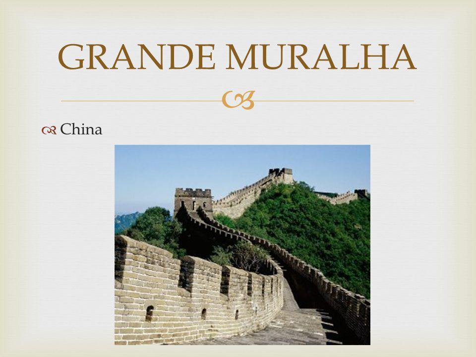 China GRANDE MURALHA