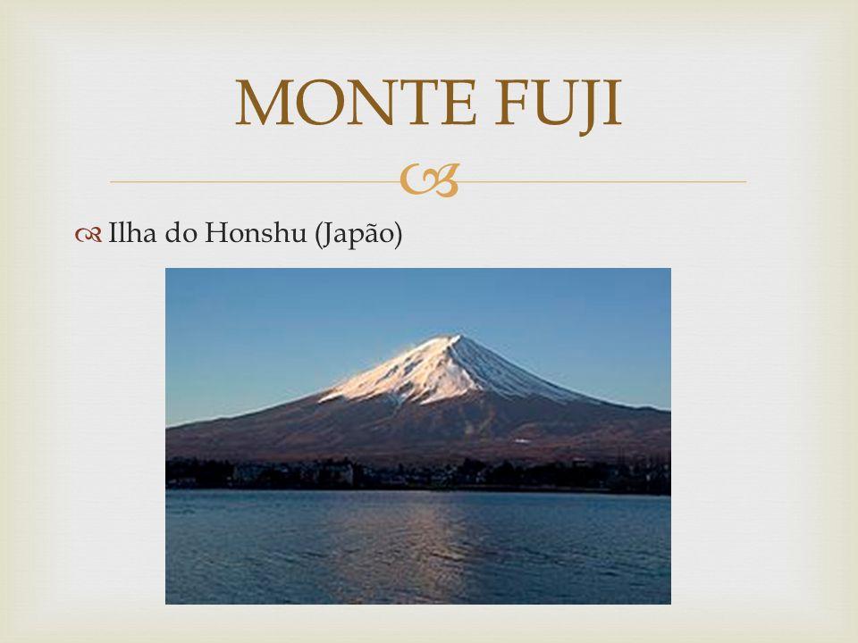 Ilha do Honshu (Japão) MONTE FUJI