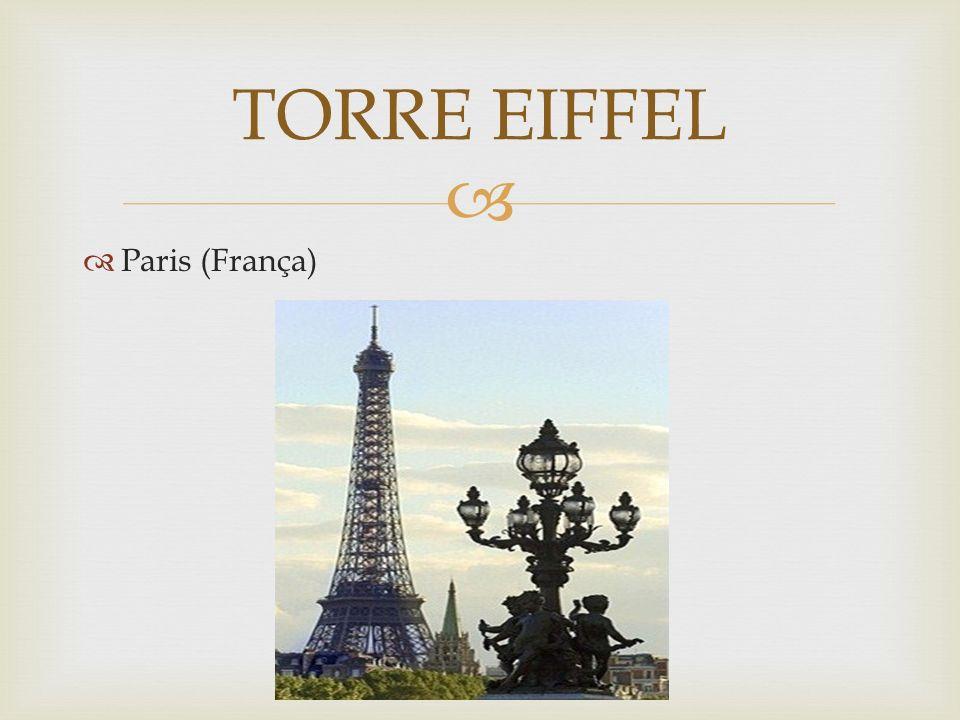 Nomeada em homenagem ao seu criador, Gustave Eiffel, é, provavelmente, uma das mais reconhecidas estruturas do mundo.