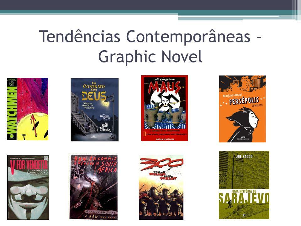 Tendências Contemporâneas – Graphic Novel