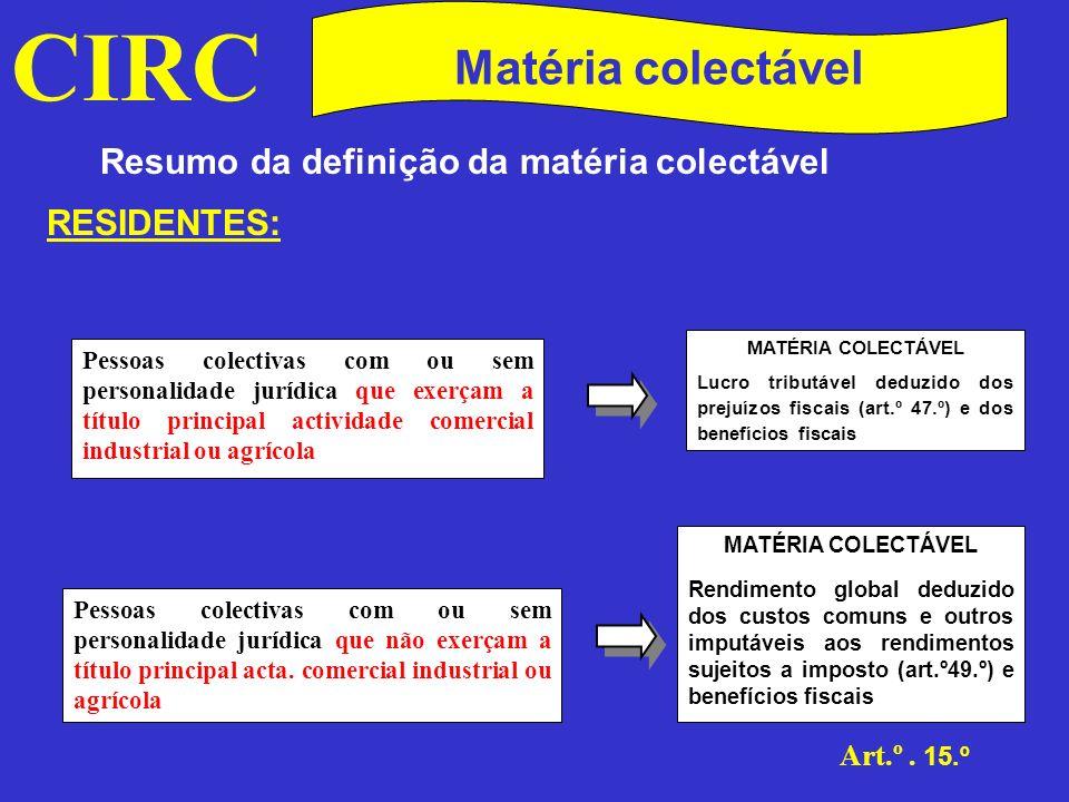 CIRC Art.º.