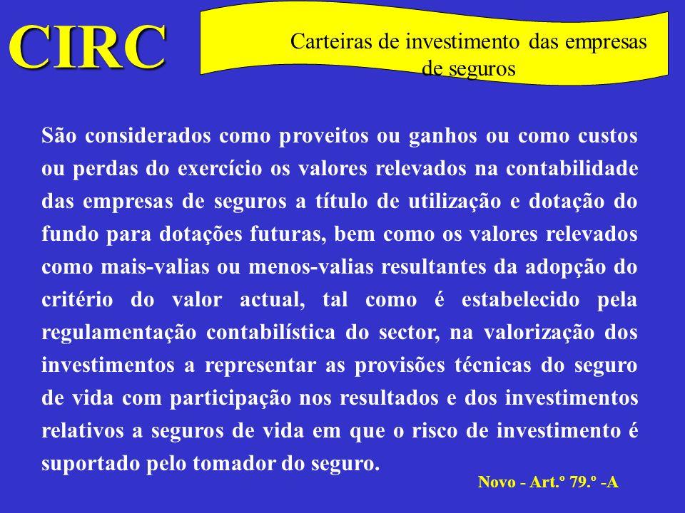 CIRC C Taxas A taxa do IRC é de 30%, excepto nos casos previstos nos números seguintes.