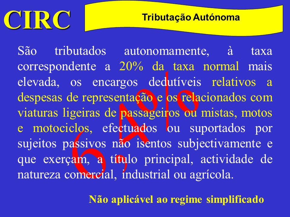 CIRC C Liquidação A liquidação do IRC processa-se nos termos seguintes: a)Quando a liquidação deva ser feita pelo contribuinte nas declarações a que se referem os artigos 112.º e 114.º, tem por base a matéria colectável que delas conste;