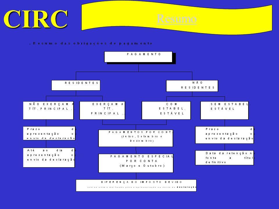 CIRC C Não há lugar a cobrança quando, em virtude de liquidação efectuada, a importância liquidada for inferior a 5000$ (€ 24,94).