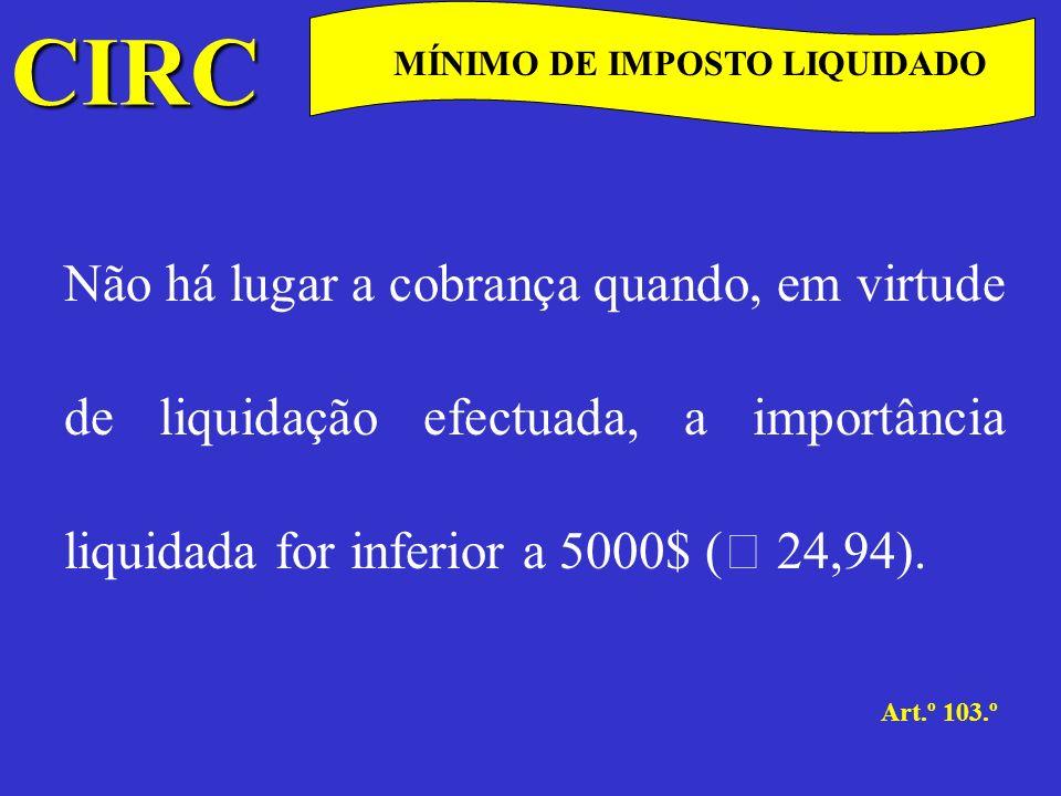 CIRC C OBRIGAÇÕES DECLARATIVAS