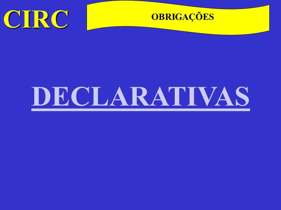 CIRC C OBRIGAÇÕES CONTABILÍSTICAS