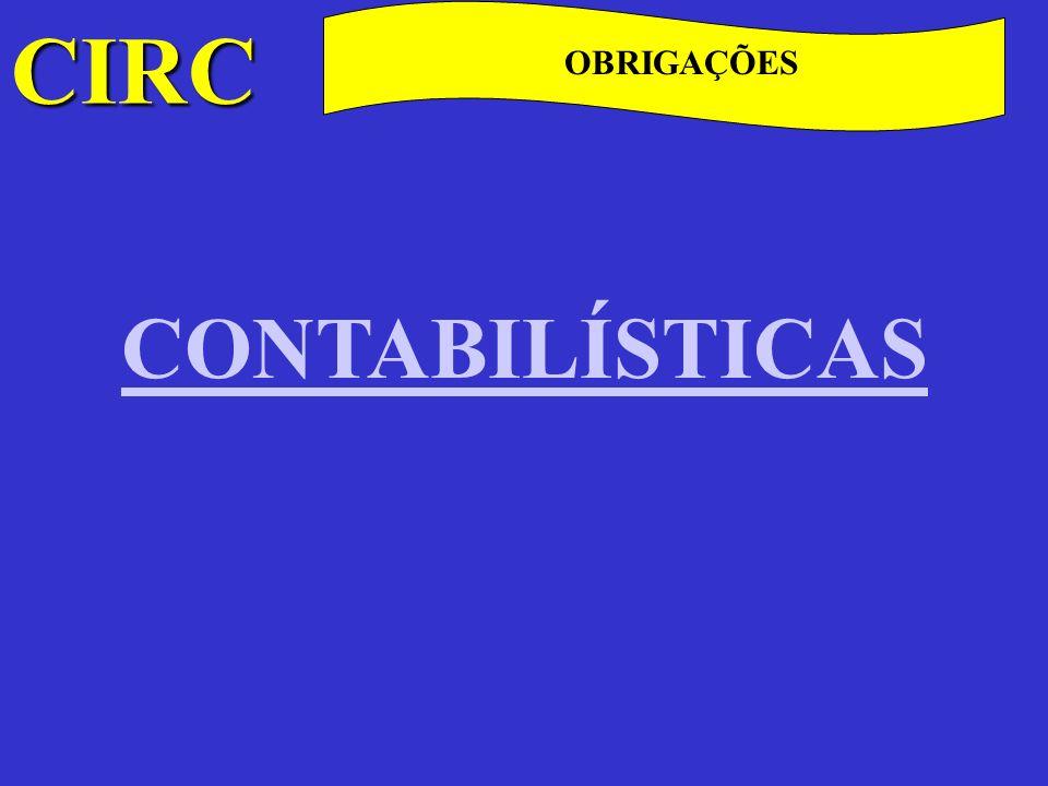 CIRC C Fiscalização As competências de fiscalização, também reguladas em diplomas autónomos (Regime Complementar de Inspecção Tributária aprovado pelo DL 413/98, de 31 de Outubro e Lei Geral Tributária) são atribuídas, pelo art.º 124.º do CIRC, a todas as autoridades, corpos administrativos, repartições públicas e pessoas colectivas de utilidade pública, em geral e, em especial, à Direcção Geral dos Impostos.