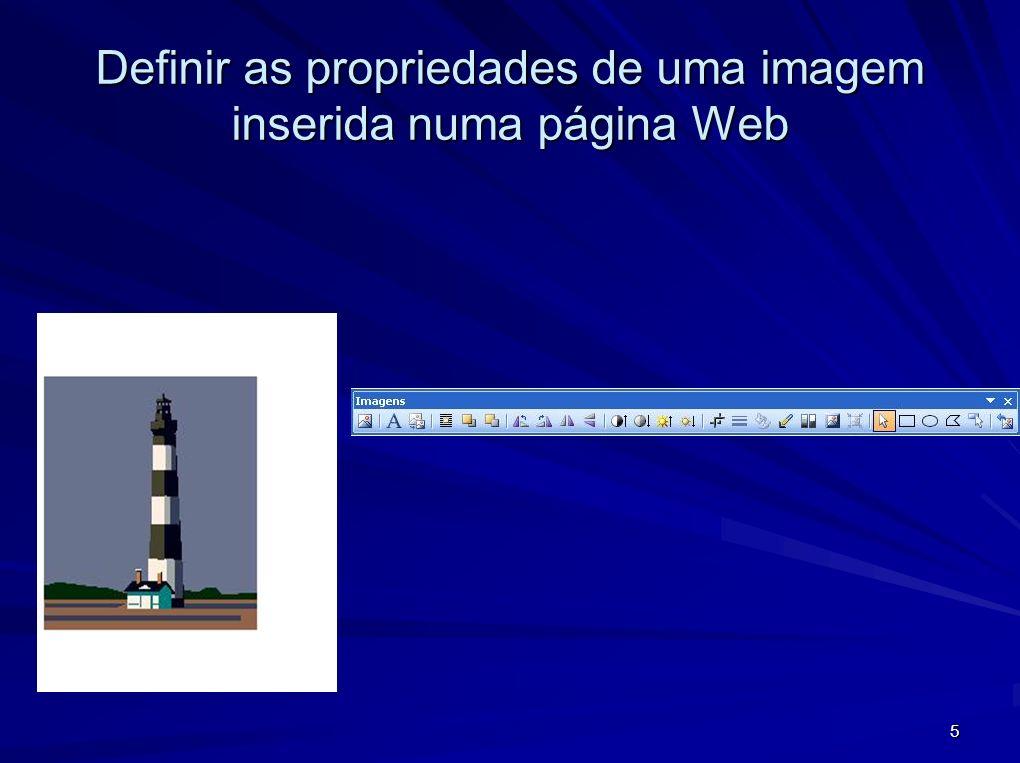 6 Desenhar imagens a partir da barra de ferramentas de Desenho Barra de desenho – menu Formas Automáticas