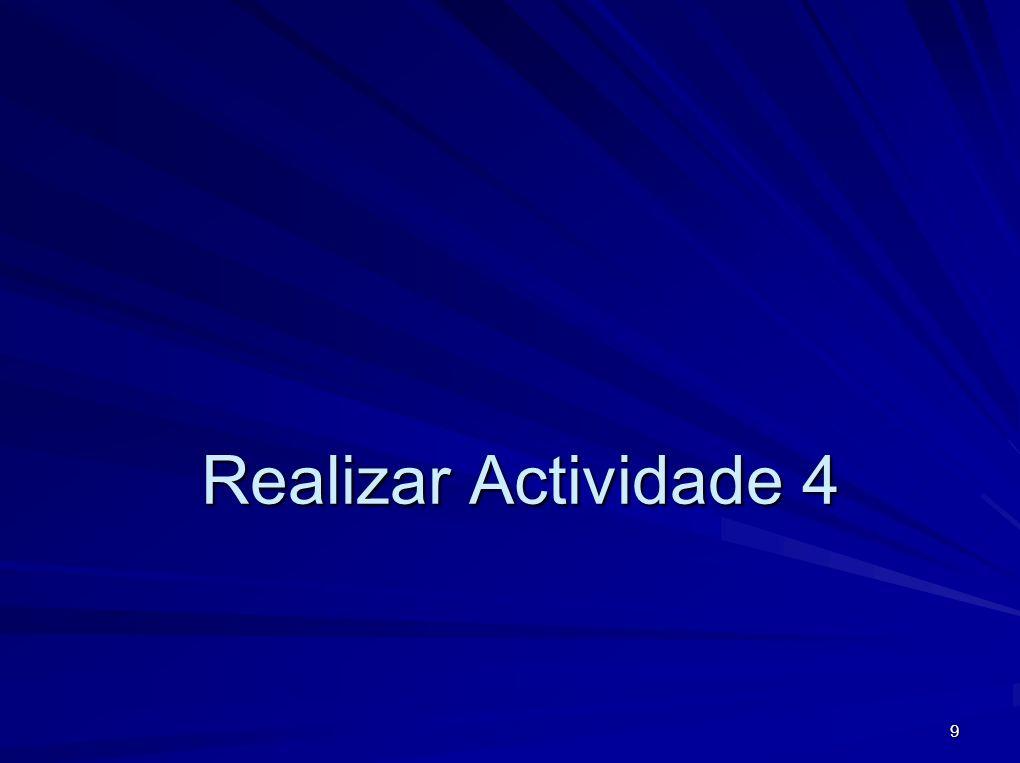 9 Realizar Actividade 4