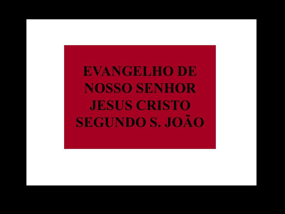 EVANGELHO DE NOSSO SENHOR JESUS CRISTO SEGUNDO S. JOÃO