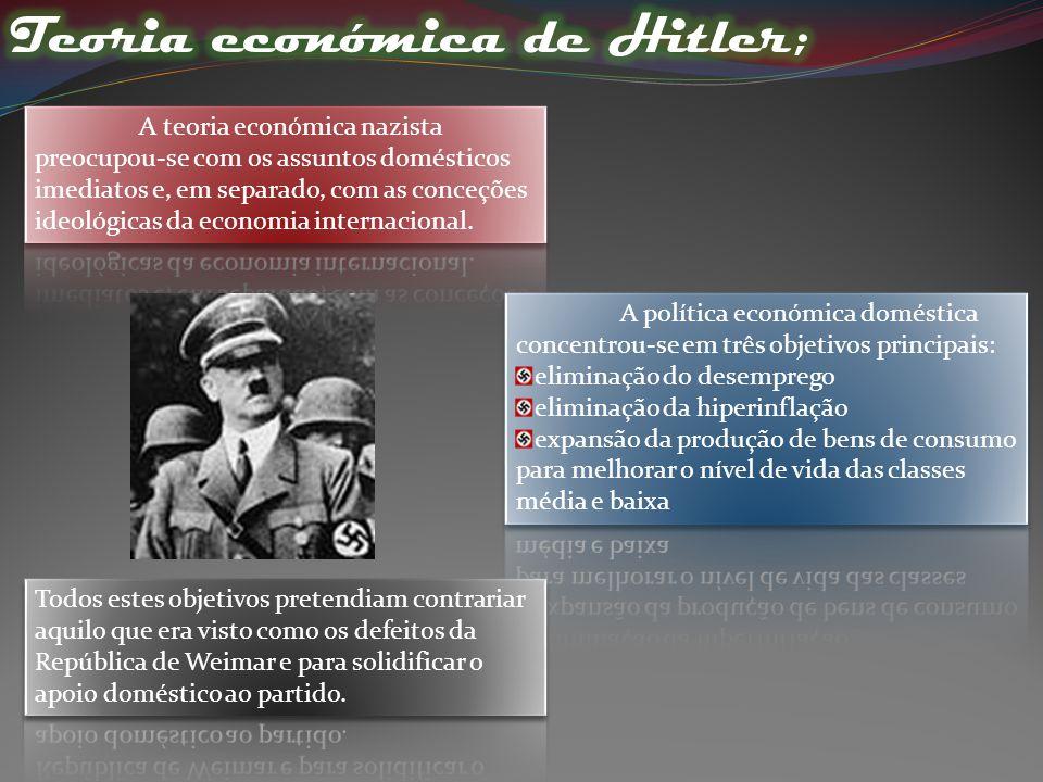 A Alemanha com: _O fim da I Guerra Mundial; _ Tratado de Versalhes em 1919; _ Grande Depressão em 1929.