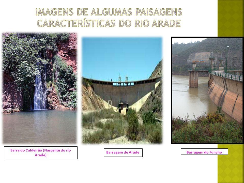 Barragem do FunchoBarragem de Arade Serra do Caldeirão (Nascente do rio Arade)