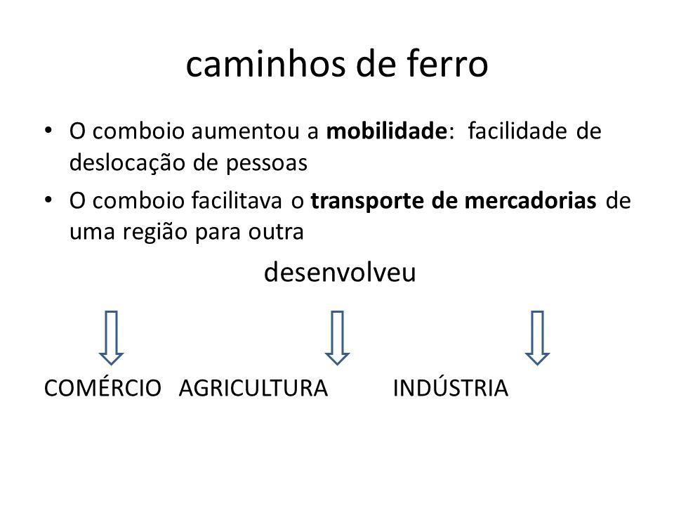 Portos e faróis O transporte por mar foi sempre muito importante no País Na 2.ª metade do séc.