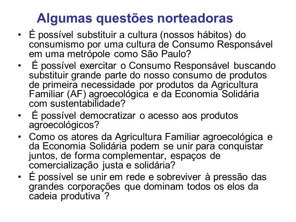 É possível substituir a cultura (nossos hábitos) do consumismo por uma cultura de Consumo Responsável em uma metrópole como São Paulo? É possível exer