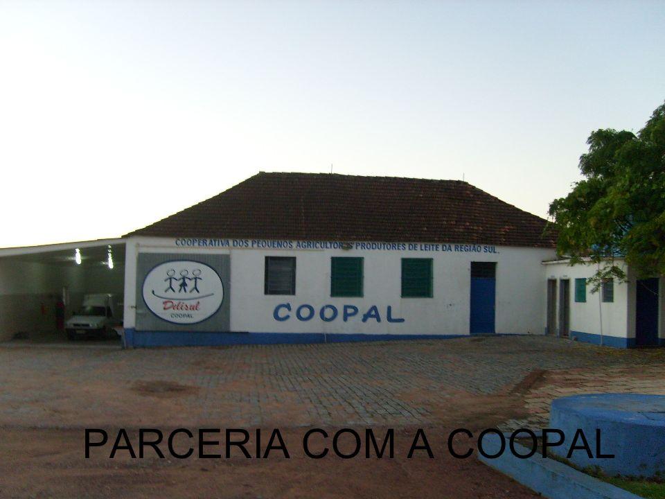 PARCERIA COM A COOPAL