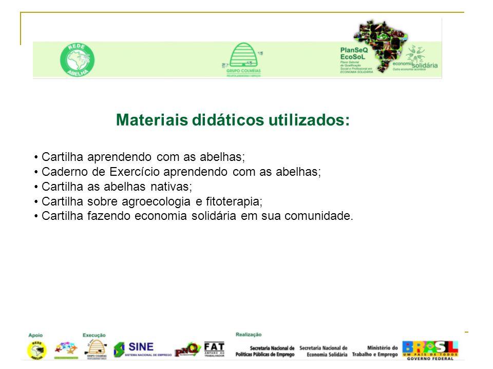 Construção de mapa floral em São Paulo do Potengi/RN