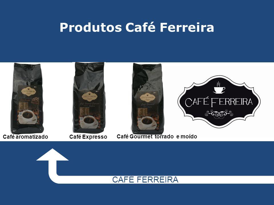 Produtos Café Ferreira CAFÉ FERREIRA Café aromatizadoCafé Expresso Café Gourmet torrado e moído