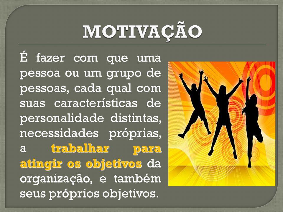MODELO DE MOTIVAÇÃO