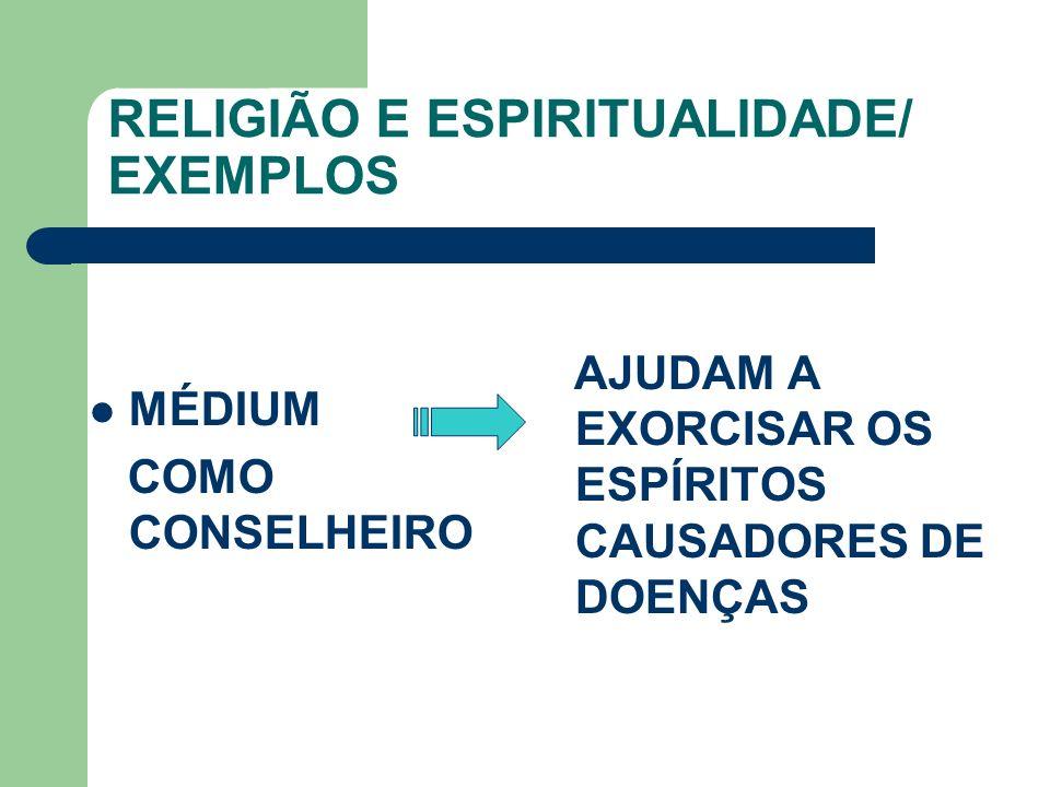 RELIGIÃO E ESPIRITUALIDADE/ EXEMPLOS MÉDIUM COMO CONSELHEIRO AJUDAM A EXORCISAR OS ESPÍRITOS CAUSADORES DE DOENÇAS