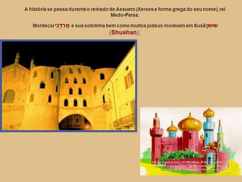 No dia em que Hamã foi enforcado o Rei dá a casa deste para Ester e Mardoqueu recebeu o anel real Ester pede que o decreto seja revogado.