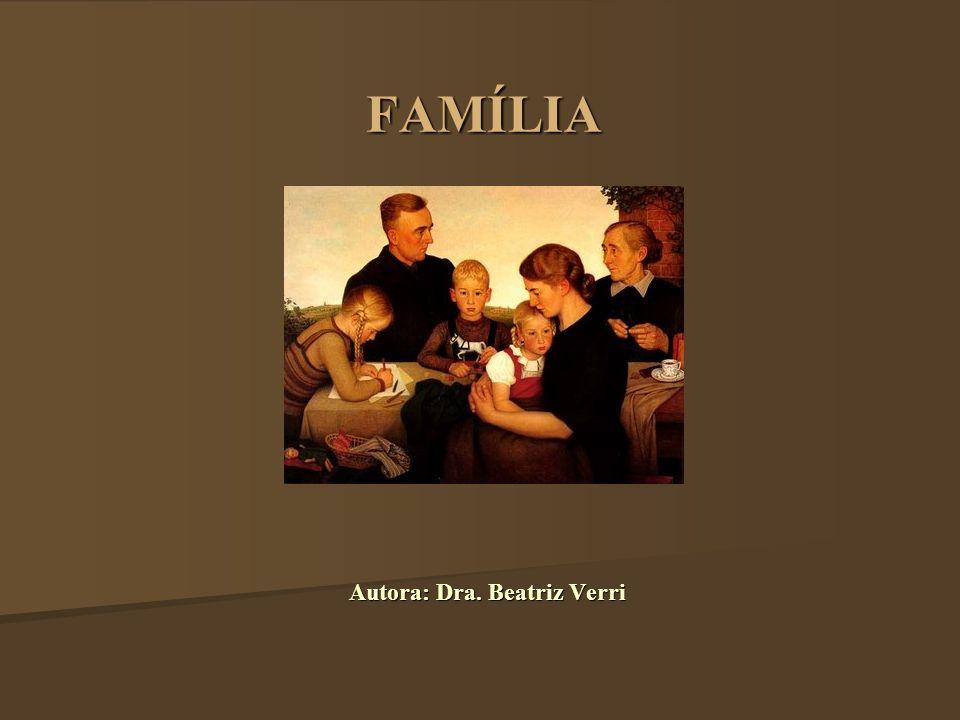 O CONCEITO DE FAMÍLIA Poucos conceitos evoluíram e modificaram-se tanto, através dos tempos, como o de família.