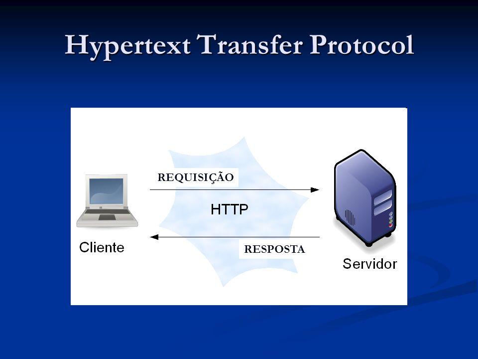 Hypertext Transfer Protocol REQUISIÇÃO RESPOSTA