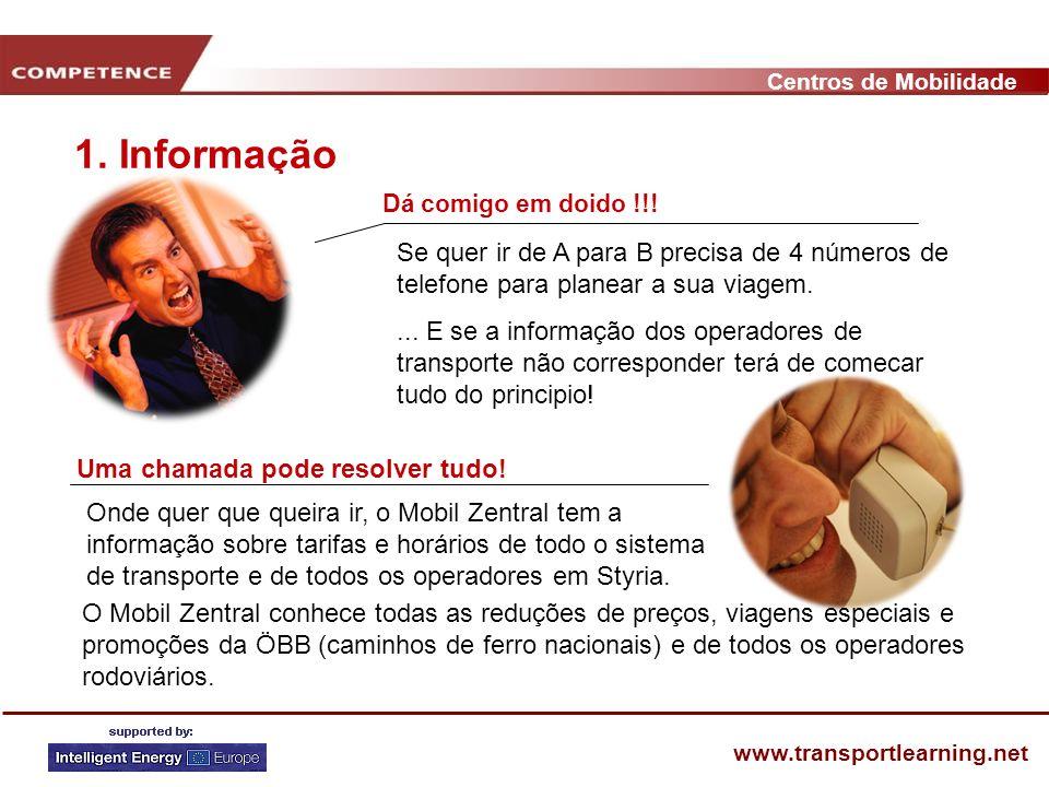 Centros de Mobilidade www.transportlearning.net Dá comigo em doido !!.