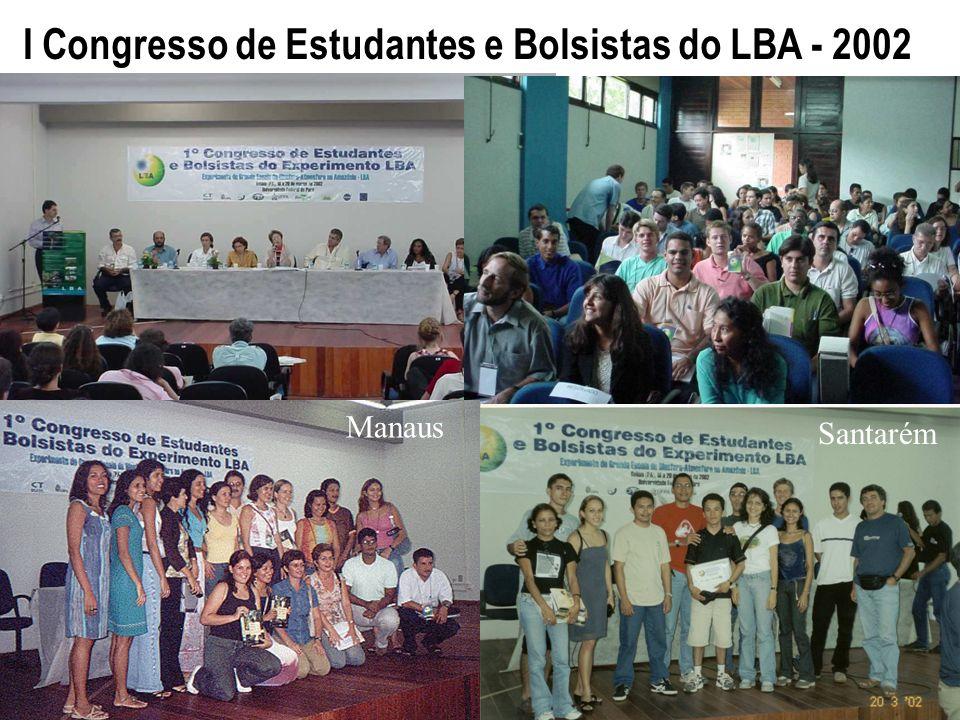 Manaus Santarém I Congresso de Estudantes e Bolsistas do LBA - 2002 Manaus Santarém