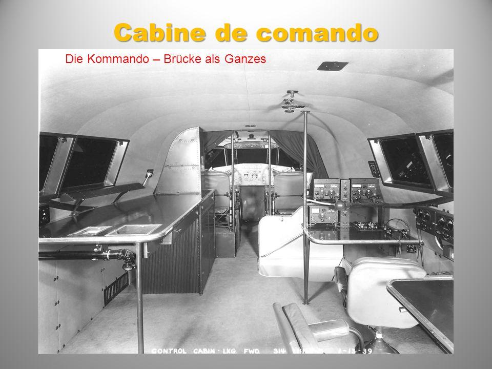 Cabine de comando Die Kommando – Brücke als Ganzes