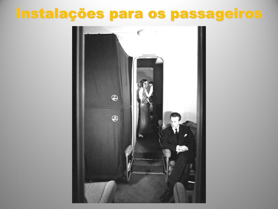 Instalações para os passageiros