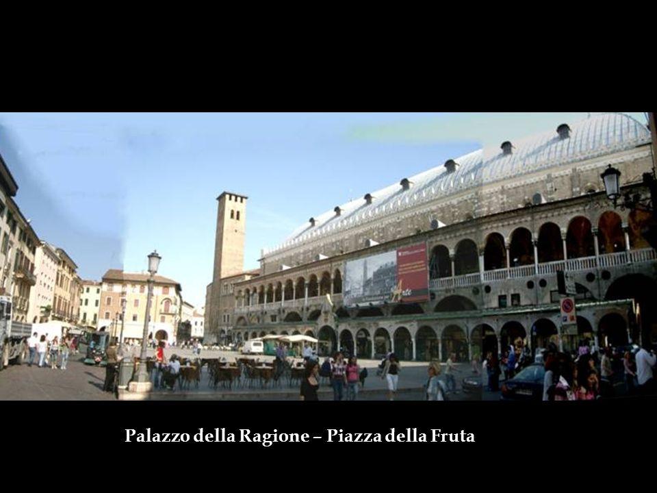 Università di Padova A presença da universidade atraiu artistas como Giotto, Fra Filippo Lippi e Donatello