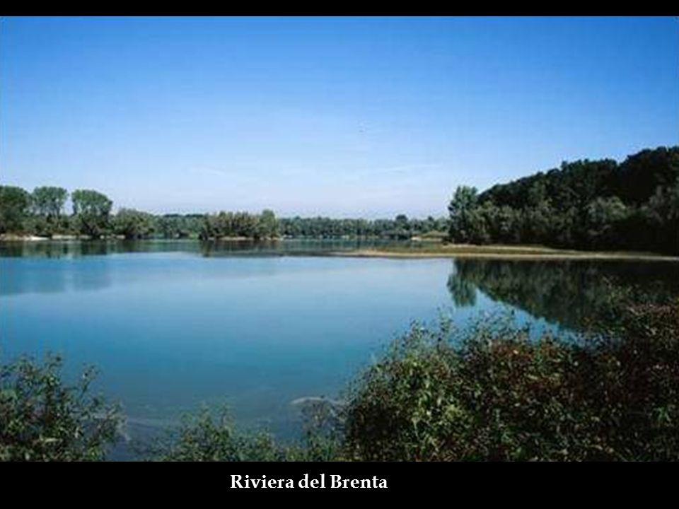 RIVIERA DEL BRENTA Entre 1500 e 1700 algumas das mais importantes famílias venezianas construíram suas residências de verão nas margens do Rio Brenta,