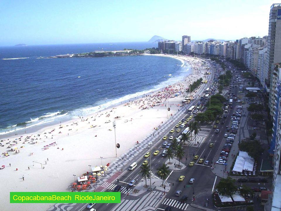 CopacabanaBeach RiodeJaneiro
